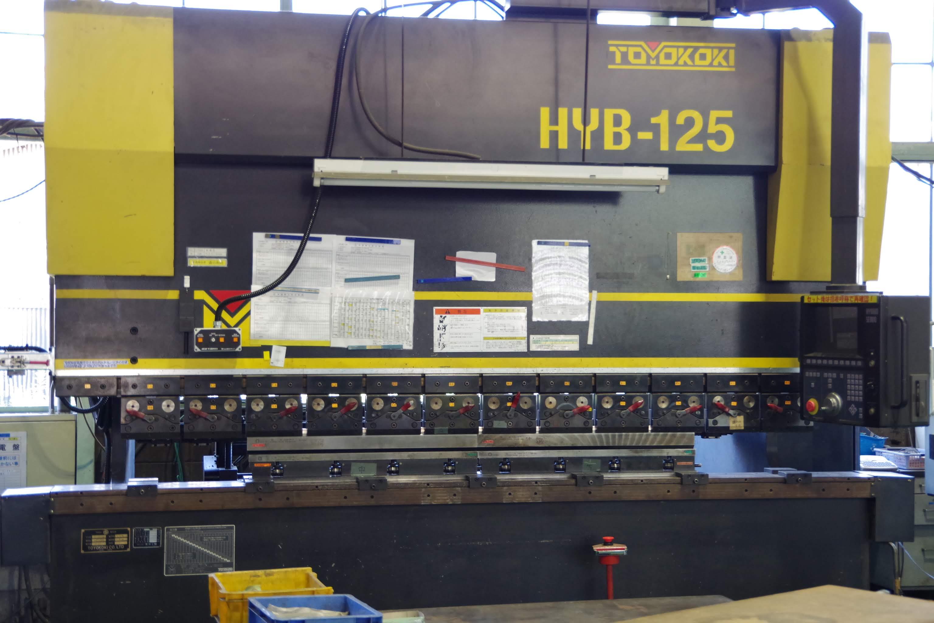 NCベンディングマシン HYB-125