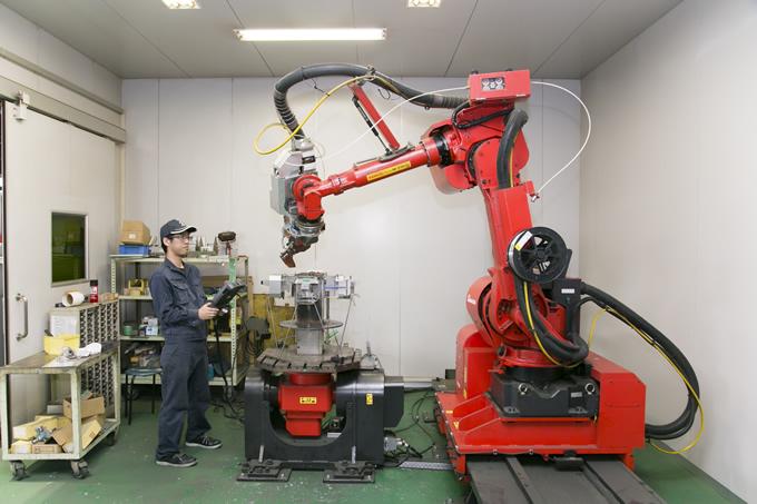 ファイバーレーザー溶接 突合せ溶接 裏波溶接 ロボット溶接 FLW―4000 Ⅿ3