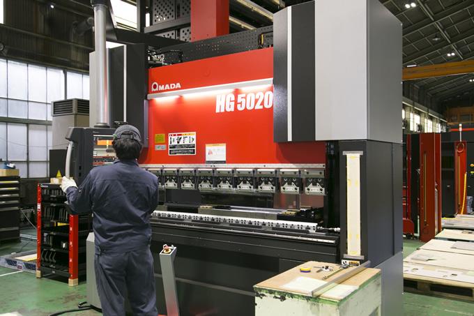 NCベンディングマシン HG-5020