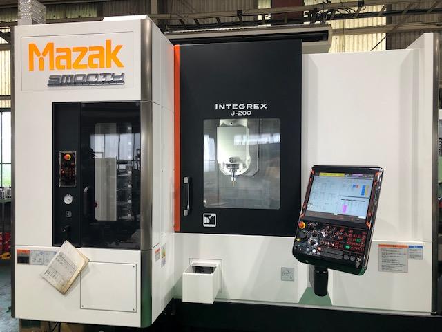 ターニングマシン INTEGREX j-200(500U)