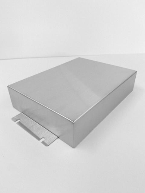 精密板金部品 医療関連部品 SUS304―ヘアライン ヘアラインカバー